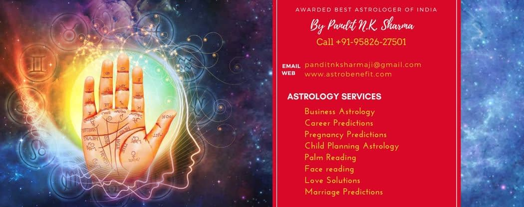 Best Psychic Astrologer In Ediburgh +91 95826 27501 Pt.N K Sharma