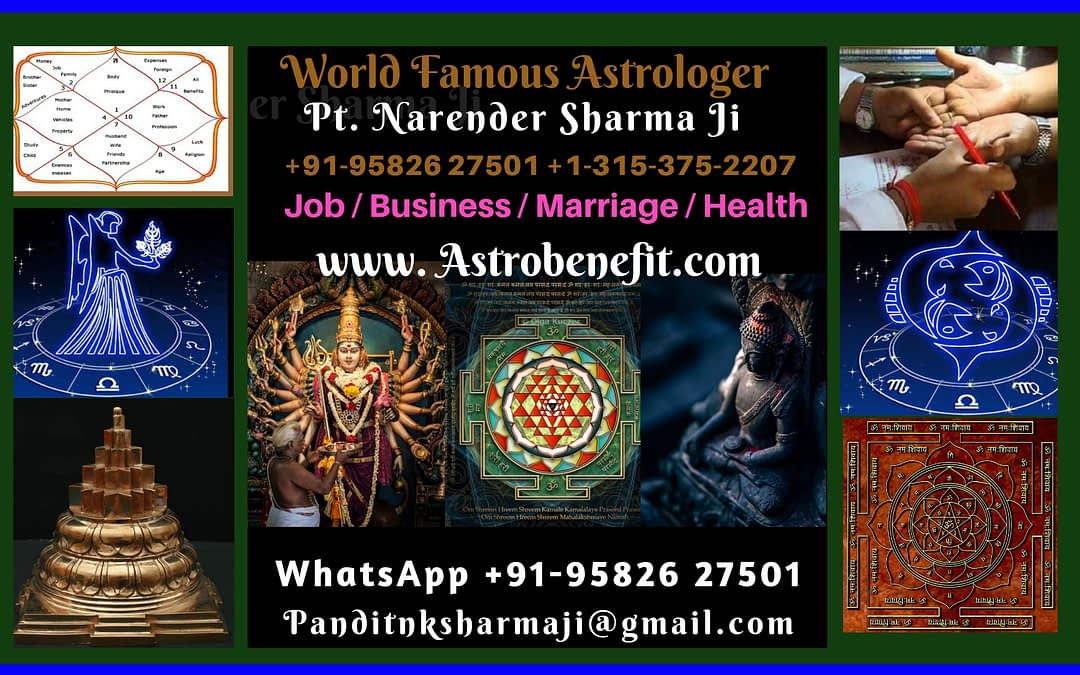 Best Astrologer In Dubai U.A.E. +91-9582627501 Pt. N K Sharma ji