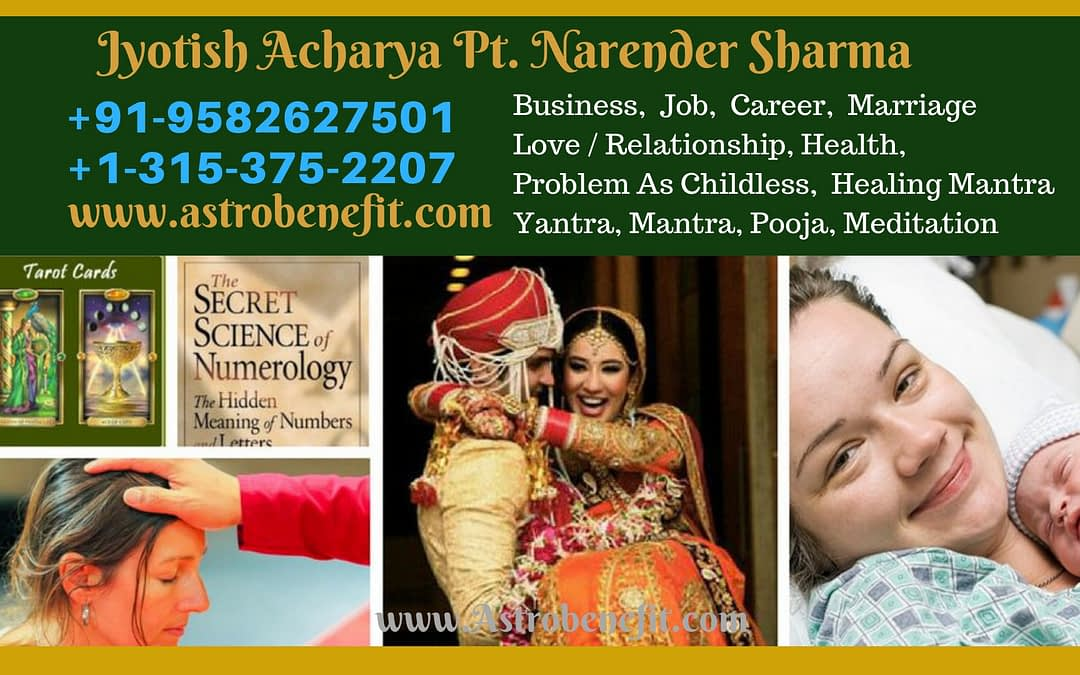 Best Psychic/Astrologer In San Francisco +1 315-375-2207 Pt.N K Sharma