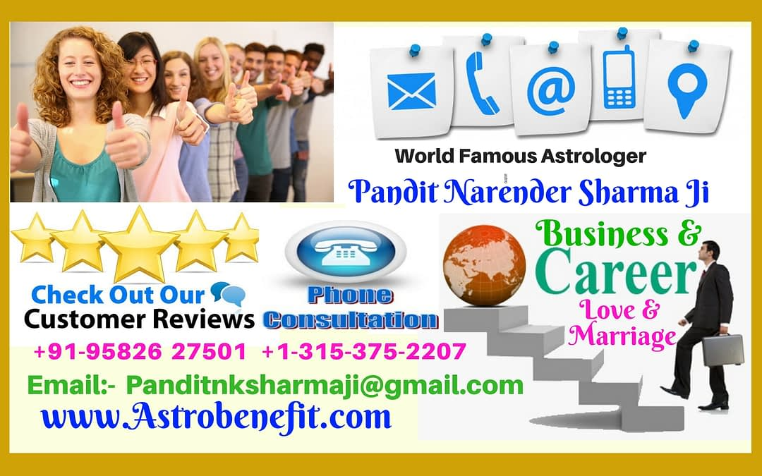 Best Psychic/Astrologer In England +91 9582627501 Pt.N K Sharma ji